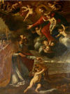 The Apparition of the Virgin Mary to Saint Paul by Giovan Battista Quagliata  c.1647